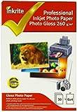 Papier Photo Professionnal Brillant 260G 10X15 50 Feuilles