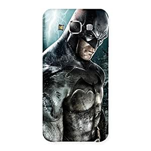 Ajay Enterprises Force Bat Back Case Cover for Samsung Galaxy E5