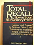 img - for Total Recall: How to Boost Your Memory Power book / textbook / text book