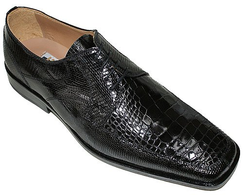 David Eden alligator skin shoes, crocodile shoes, and other exotic skin options add a bold touch to classic shoe silhouettes. For the man who already has the basics covered or wants to inject his wardrobe with some extra style, these David Eden exotic skin shoes cannot be beat.