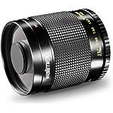 Walimex 500mm 1:8,0 DSLR-Spiegelobjektiv (Filtergewinde 30,5mm, inkl. Skylight- und Graufilter) für Canon EF Bajonett schwarz
