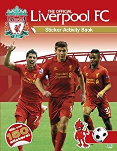 Official Liverpool Fc Sticker Activity B by Carlton Kids