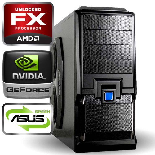 computerwerk - Gaming Komplett PC Tucana D - 4x 3.6 GHz AMD FX-4100, ASUS M5A78L-M LX , 8 GB [2x 4GB] DDR3-1333, 1,0 TB S-ATAIII, 22-fach Dual Layer DVD±RW, 2048 MB GeForce GTX660-Ti, Aircraft JY-X6, Silent Super Power 750 W