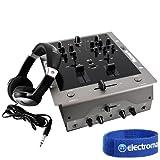 Numark M3 Pro Tabletop DJ Mixer & HF125 Headphones