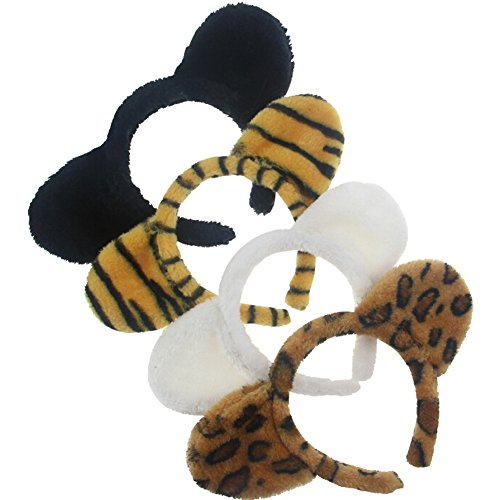 eYourlife2012 Halloween Costume Cosplay Animal Plush Cat Ear Hair Headband Band