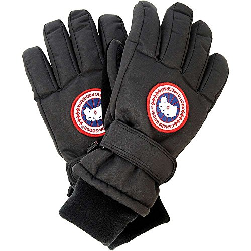Canada Goose Boy's Down Glove (Medium, Black) (Canada Goose For Boys compare prices)