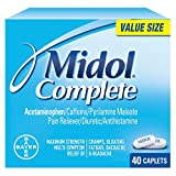 Midol Complete Caplets, 40 Count