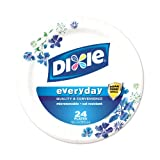 Dixie Plates, 24 Count, 10 1/16 Inches(Packaging May Vary)