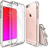 iPhone 6S Plus Case, Ringke FUSION ** Shock Absorption Technology**[FREE Screen Protector][CRYSTAl VIEW] Crystal Clear PC Back Drop Protection TPU Bumper Case for Apple iPhone 6 Plus (2014) / 6S Plus (2015)