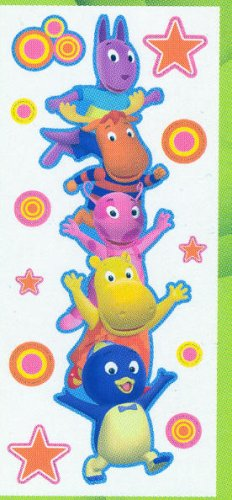 Nickelodeon Backyardigans Jumbo Wall Stickers