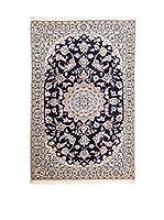 Navaei & Co. Alfombra Persian Nain Extra 9 Lah Azul/Multicolor 179 x 108 cm