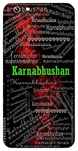 Karnabhushan (Ear Ring, Ear Ornament) Name & Sign Printed All over customize & Personalized!! Protective back cover for your Smart Phone : Apple iPhone 7