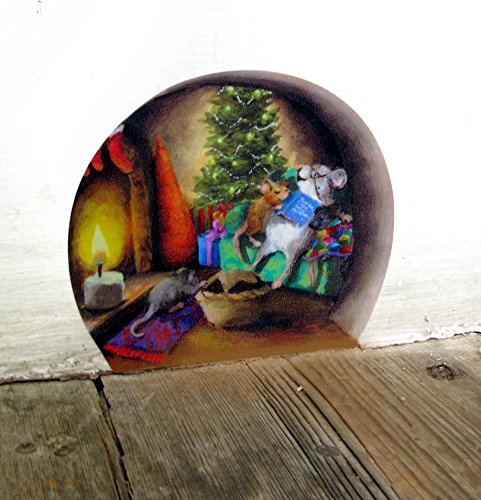 twas-the-night-before-christmas-mouse-hole-wall-sticker-decal-christmas-eve