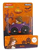 Fisher Price Little People Disney Wheelies - Belle - Halloween