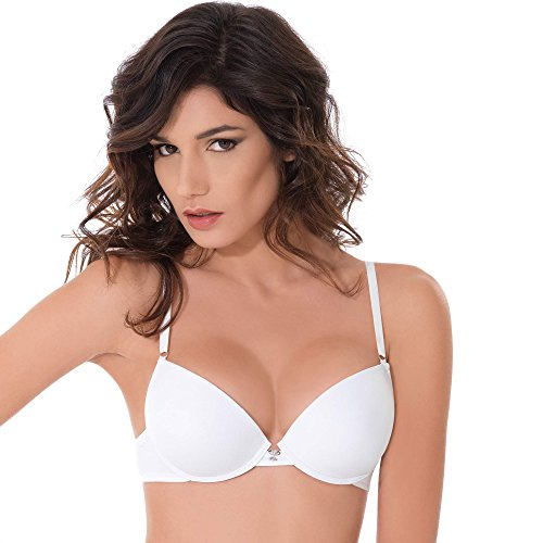 Miracle P2729 Reggiseno Push Up con ferretto coppe gel ultralight