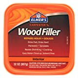 Elmers E842L Carpenters Wood Filler 1-Quart