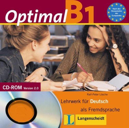 optimal b1 cd rom b1 lehrwerk f r deutsch als fremdsprache deutsch als fremdsprache f r. Black Bedroom Furniture Sets. Home Design Ideas
