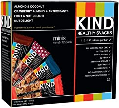 KIND Minis Variety Count, 12-Count, 0.8oz