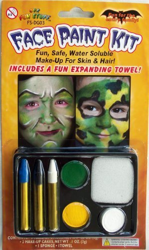 Halloween Face Painting Kit Party