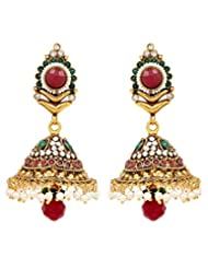 Akshim Multicolour Alloy Earrings For Women - B00NPYBT3K