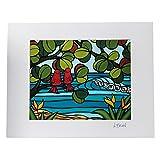 Heather Brown ヘザーブラウン アートプリント Love Birds ラブバーズ HB9266P ハワイ 絵画 インテリア