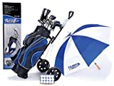 MD Golf Surefire Deluxe Upgrade Graphite/Steel Set & Trolley