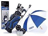 MD Golf Surefire Deluxe Upgrade Graphite/Steel Set & Trolley