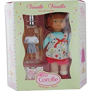 MISS COROLLE DOLLS by Parfums Corolle Perfume Gift Set for Women (SET-VANILLE EDT SPRAY 2 OZ & DOLL)