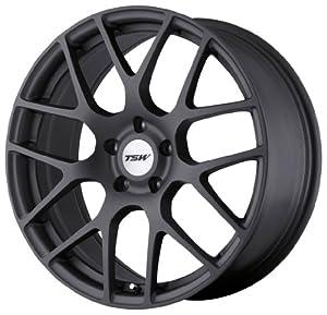 "TSW Alloy Wheels Nurburgring Matte Gunmetal Wheel (18x10.5""/5x114.3mm)"
