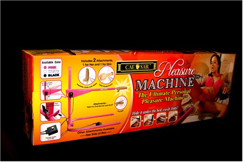 Caesar Machine 110 Volt Personal Pleasure Machine, Hot Pink