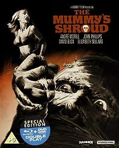 Der Fluch der Mumie / The Mummy's Shroud (+ DVD) [UK Import][Blu-ray]