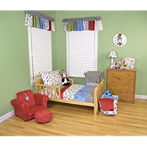 Trend Lab Dr Seuss Toddler Bedding Set, Cat in The Hat