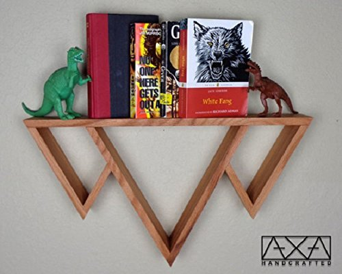 single-solid-wood-three-mountains-triangle-display-shelf