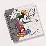Enesco Disney by Britto Mid Century Mickey Notebook Journal, 0.65-Inch