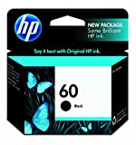 51dFbIA8ngL. SL160  HP 60 CC640WN140 Ink Cartridge in Retail Packaging Black