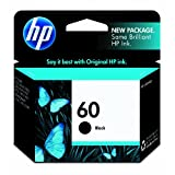 HP 60 CC640WN140 Ink Cartridge in Retail Packaging-Black ~ HP