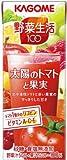カゴメ 野菜生活100 太陽のトマトと果実 200ml×24本