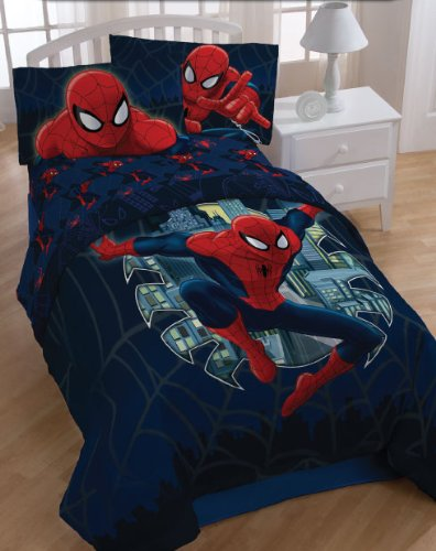 Find Discount Marvel Spiderman Quilt in Full / Queen Size