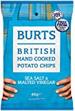 Burts Potato Chips Salt and Vinegar 40 g (Pack of 20)