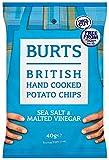 Burts Potato Chips Salt and Vinegar 40 g (Pack of 20)