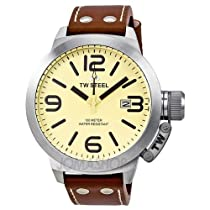 TW Steel CEO 50 mm Cream Dial Mens Watch TW21R