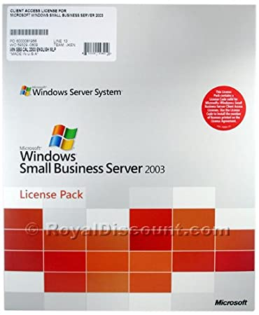 Small Business Server 2003 5 User Add-on CALs