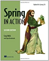 Spring in Action, 2nd Edition Front Cover