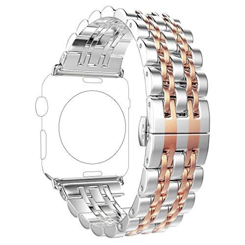fur-apple-watch-armband-42mmrosa-schleifer-edelstahl-metall-apple-iwatch-armband-uhrenarmband-strap-