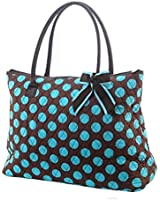 Lar Lar Quilted Polka Dot Extra Large Tote Bag