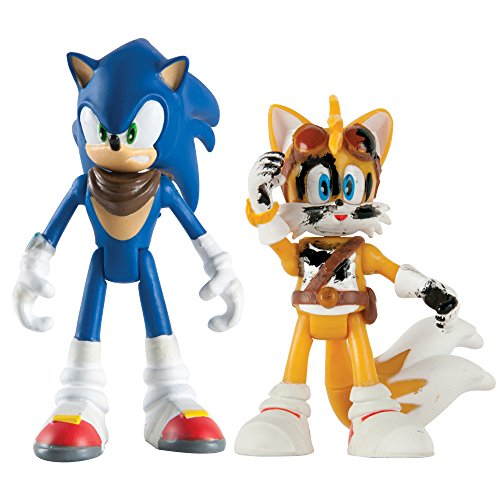 Sonic Boom Small Figure 2 Pack- Sonic & Tails - 1