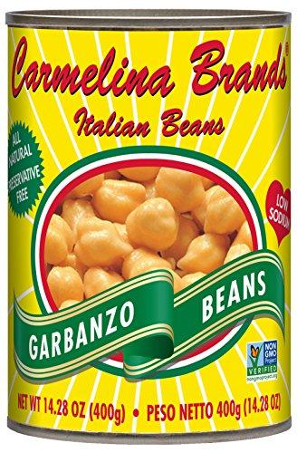 Carmelina Brands Italian Ceci Garbanzos, 14.28 Ounce (Pack of 12)