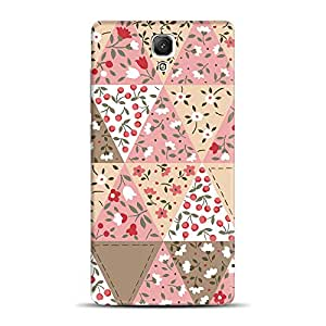 INKIF Flowers Pattern Designer Case Printed Mobile Back Cover for Xiaomi Redmi 1S (Multicolor)