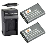 DSTE® 2x LI-60B Battery + DC16