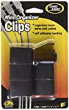 Cord Away Master Wire Clips, 6-Pack, Black (00204)